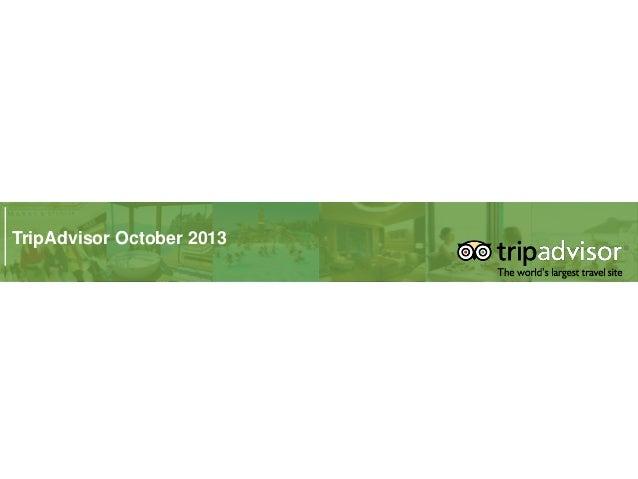 TripAdvisor October 2013