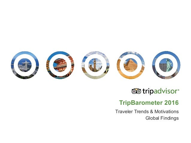 TripBarometer 2016 Traveler Trends & Motivations Global Findings