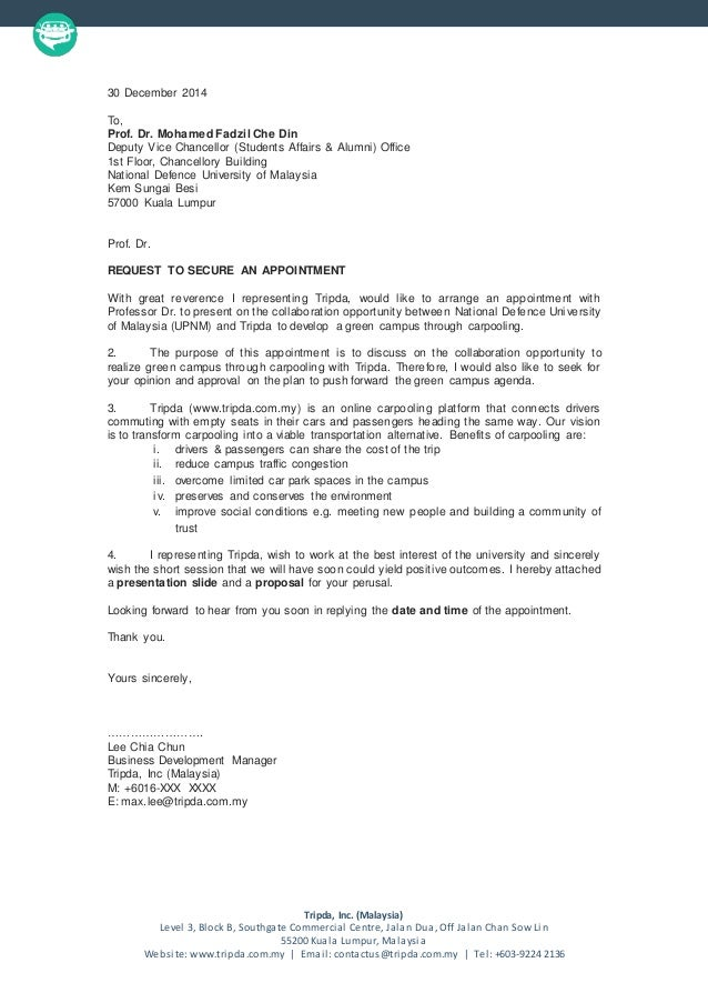 basic appointment letter