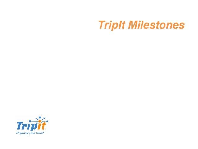 TripIt Milestones