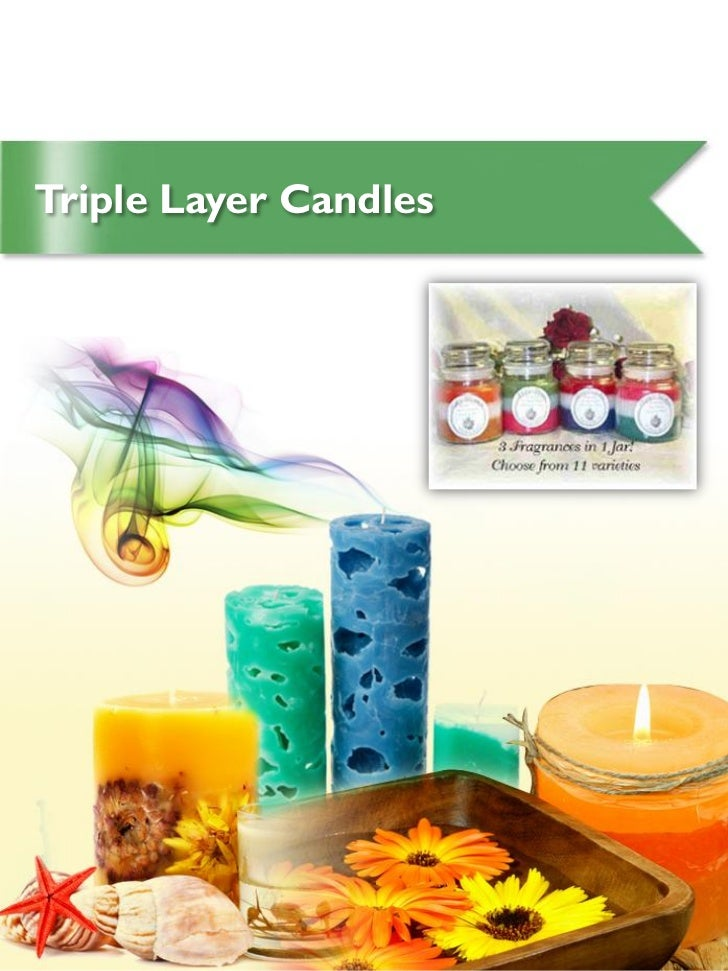 Triple Layer Candles