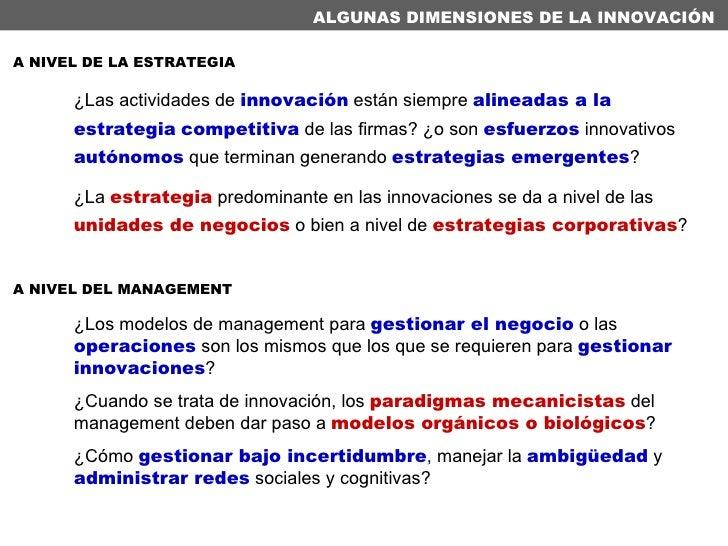 ¿Los modelos de management para  gestionar el negocio  o las  operaciones  son los mismos que los que se requieren para  g...