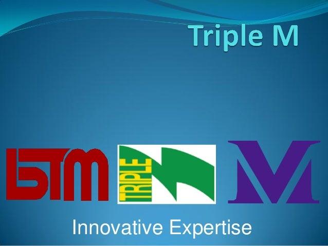 Innovative Expertise