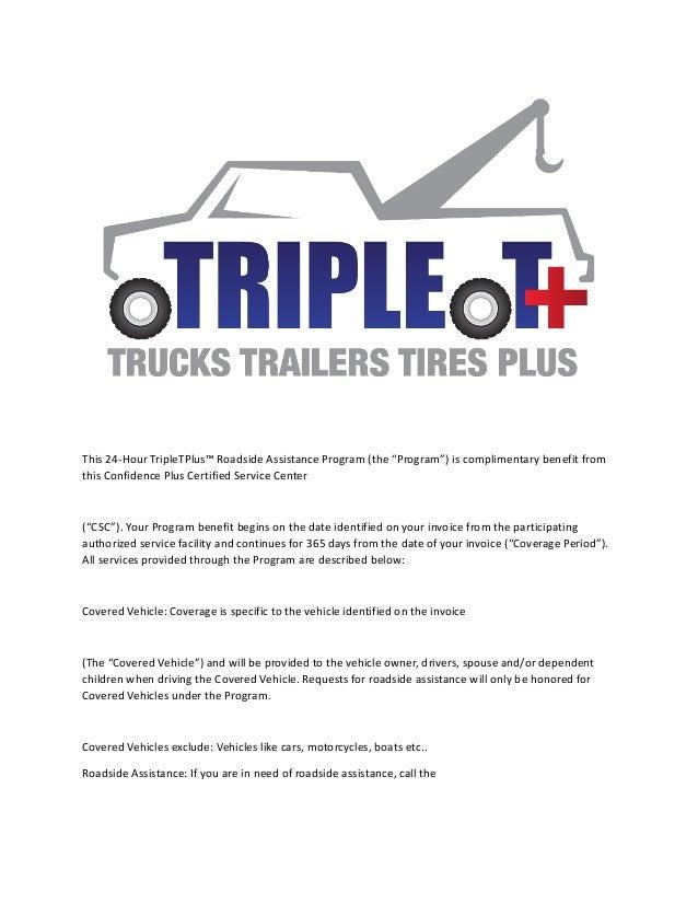 Semi Trucks Road Service - Road service invoices