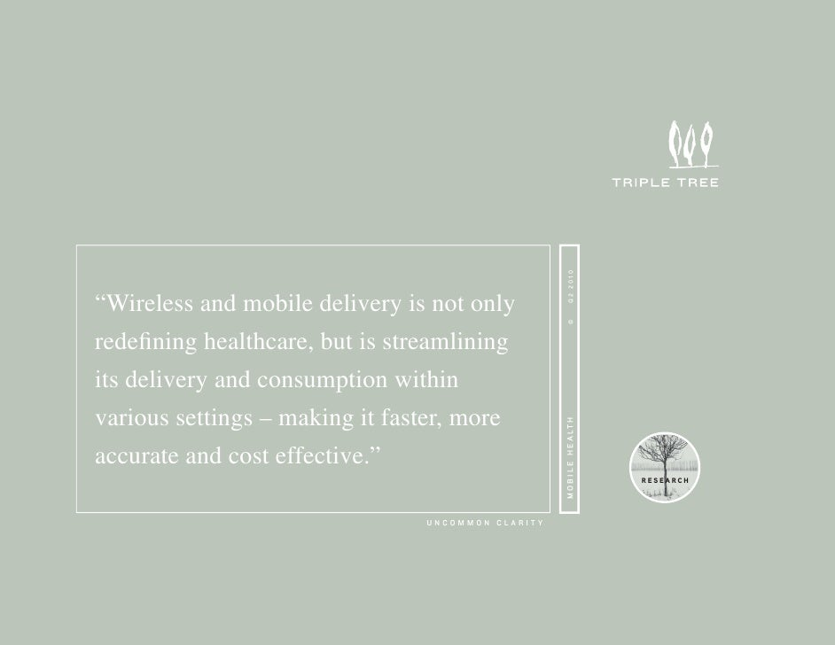 "Q2 2010 ""Wireless and mobile delivery is not only                                                           © redefining he..."