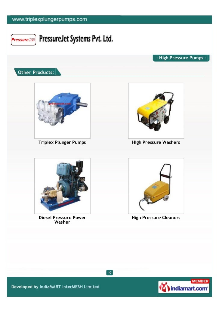 Pressure Jet Systems Private Limited Ahmedabad High