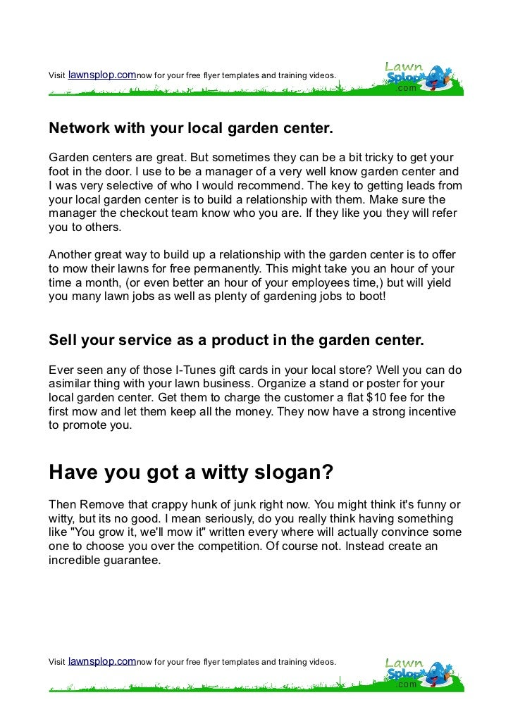 Top Result 60 New Starting A Lawn Care Business Photography 2018 ...