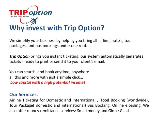 Trip Option Travel Agency Business