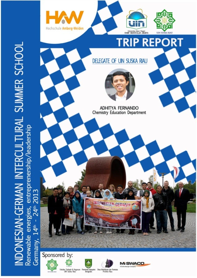 Trip report of Summer University 2013 in Germany