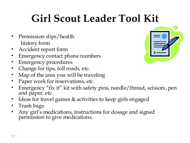 Trips with girl scouts is unique!