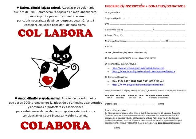 ♥ Estima, difusió i ajuda animal. Associació de voluntaris que des del 2009 promovem l'adopció d'animals abandonats, donem...