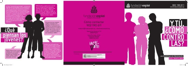 CONCEPCIÓNGRÁFICA:EVAÁLVAREZGARABITO(WWW.NIUGRAFIC.COM) Tríptic_Drogues_TZ.indd 1Tríptic_Drogues_TZ.indd 1 27/07/15 13:3...