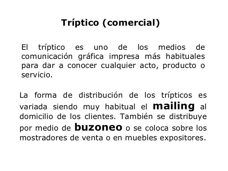 El tríptico es uno de los medios de comunicación gráfica impresa más habituales para dar a conocer cualquier acto, product...