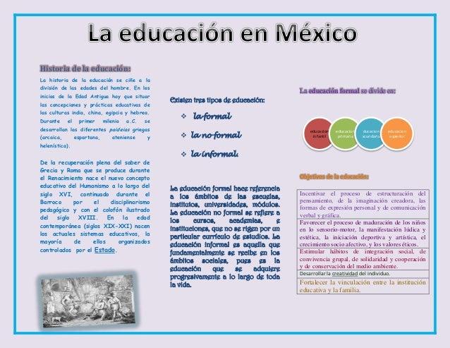 Historia de la educación: La historia de la educación se ciñe a la división de las edades del hombre. En los inicios de la...