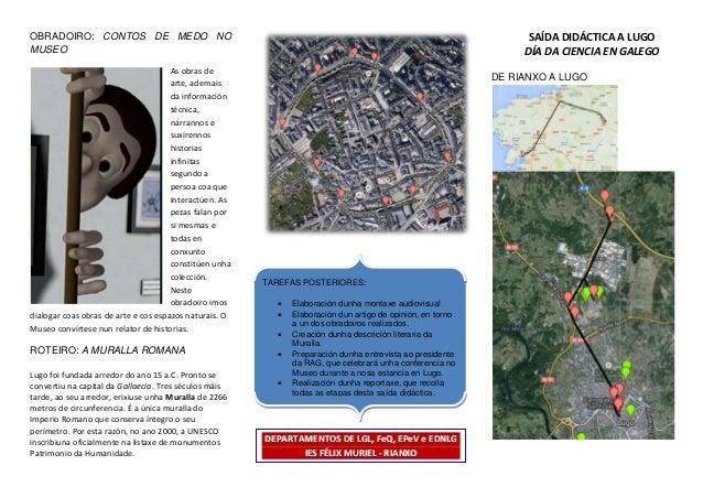 OBRADOIRO: CONTOS DE MEDO NO MUSEO As obras de arte, ademais da información técnica, nárrannos e suxírennos historias infi...