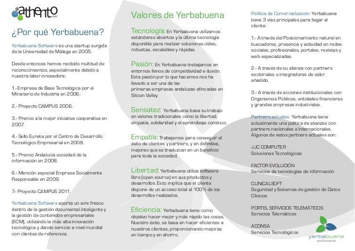 Valores de Yerbabuena                             Política de Comercialización: Yerbabuena                                ...