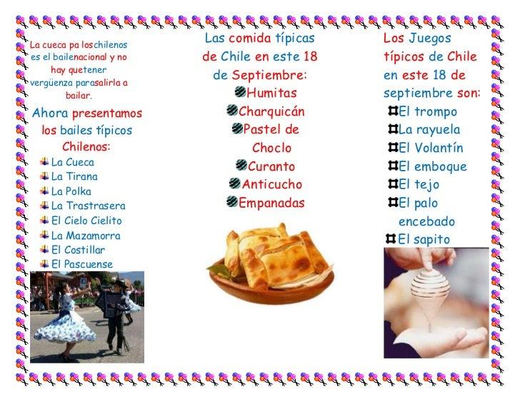 Triptico Fiestas Patrias Slide 2