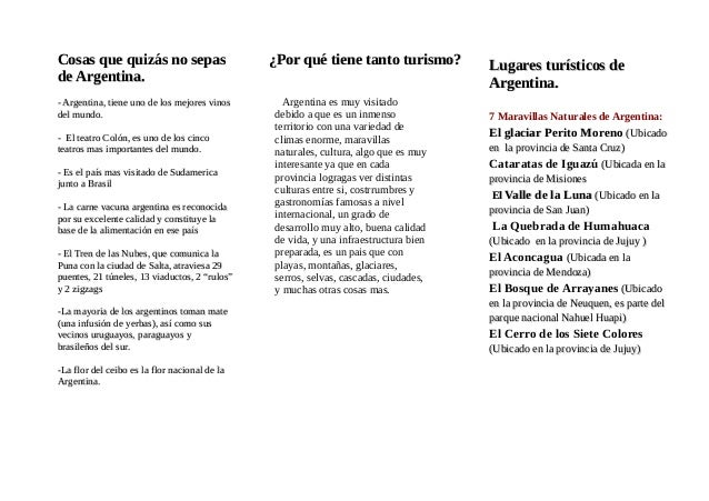 Cosas que quizás no sepasCosas que quizás no sepas de Argentina.de Argentina. - Argentina, tiene uno de los mejores vinos-...