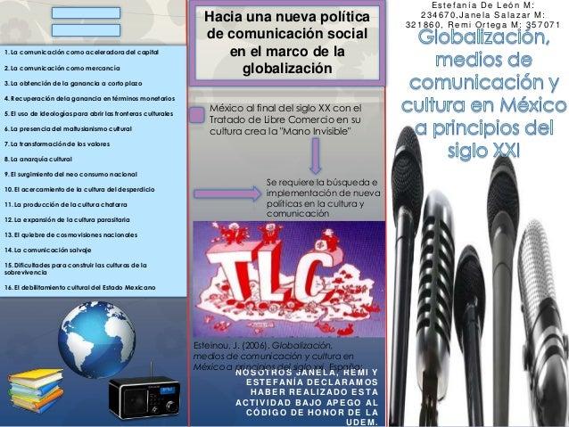 Estefanía De León M:                                                                Hacia una nueva política              ...