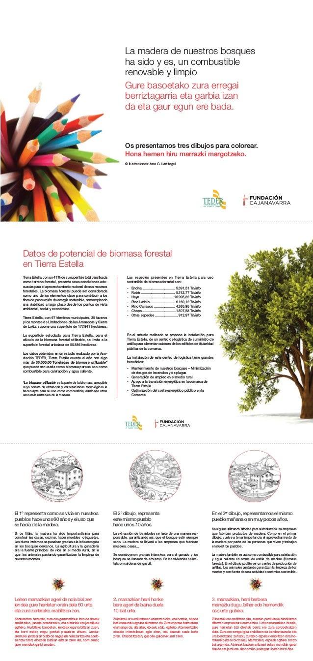 La madera de nuestros bosques ha sido y es, un combustible renovable y limpio Os presentamos tres dibujos para colorear. H...