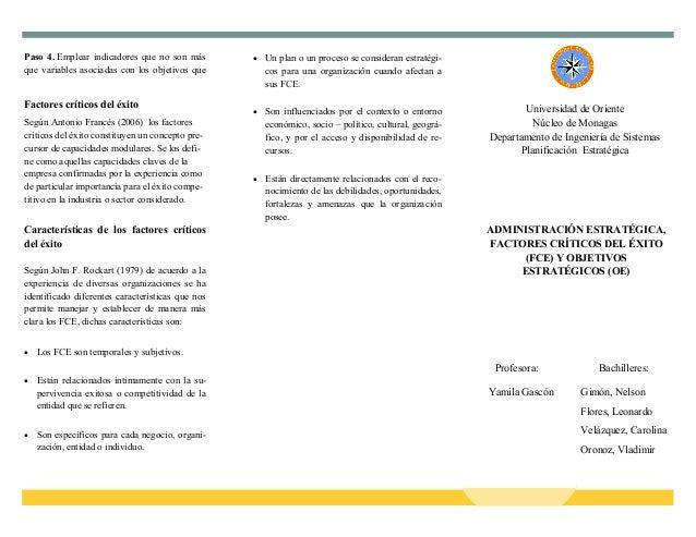 Universidad de Oriente Núcleo de Monagas Departamento de Ingeniería de Sistemas Planificación Estratégica ADMINISTRACIÓN E...