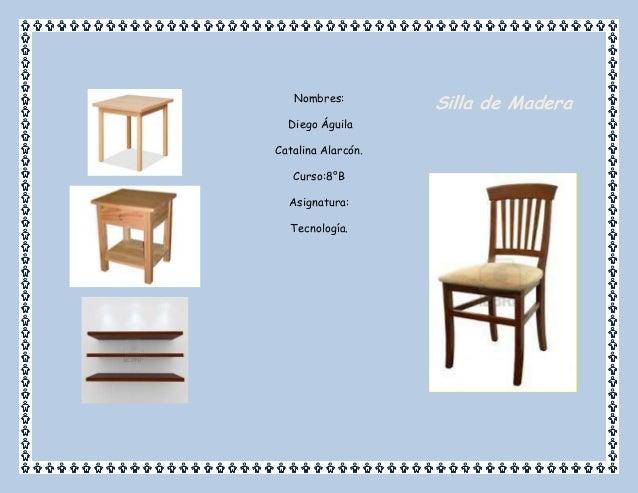 Triptico de silla de madera - Como se elabora una silla de madera ...