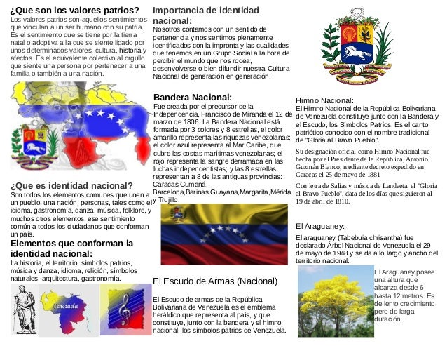 Resultado de imagen para simbolos patrios de venezuela