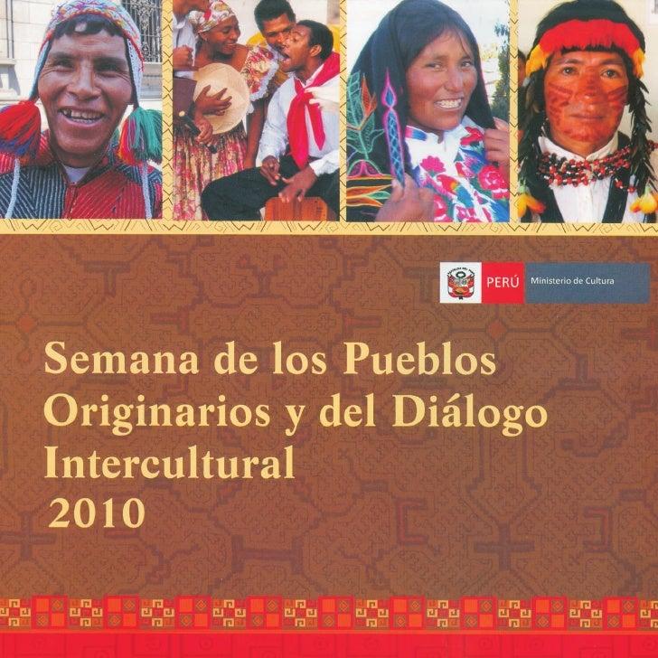 Semana de los Pueblos Originarios y del Diálogo Intercultural 2010