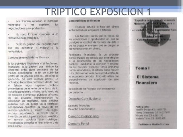 TRIPTICO EXPOSICION 1