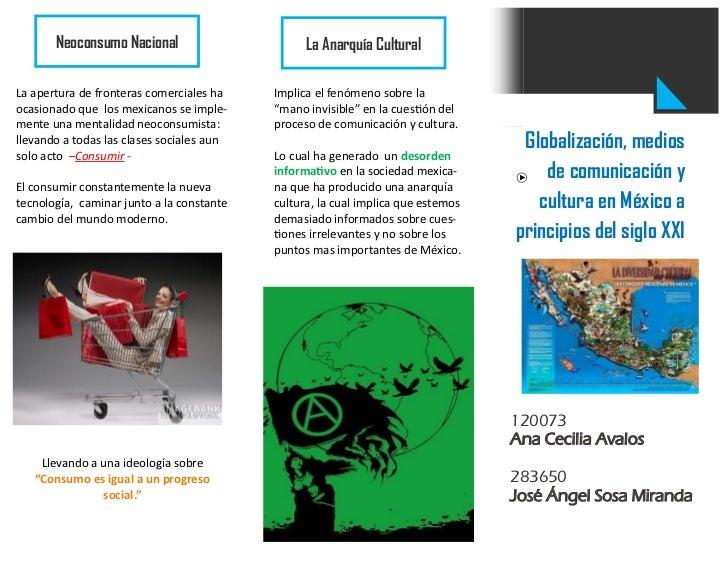 Triptico pdf 2 parte viernes 23 globalizacion, cultura ...