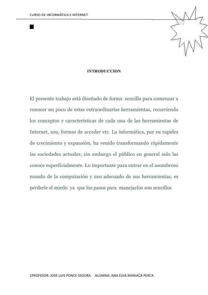 CURSO DE INFORMÁTICA E INTERNET                                                                         T-N               ...