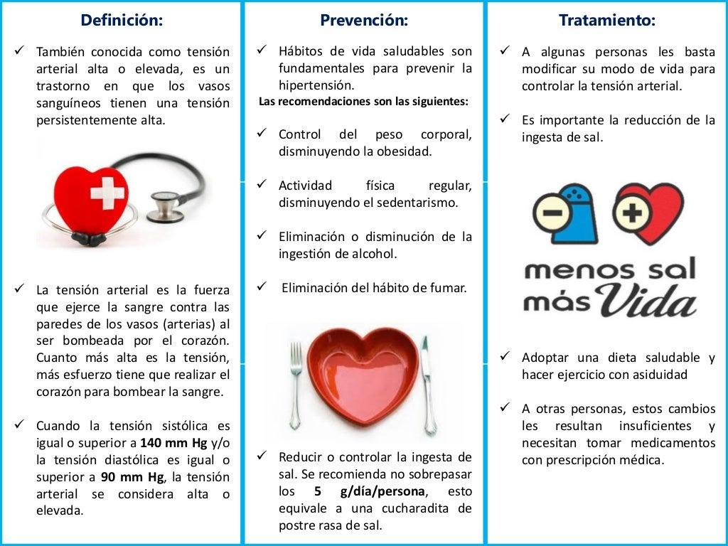 Tripticos enfermedades hipertensión - abril 2015