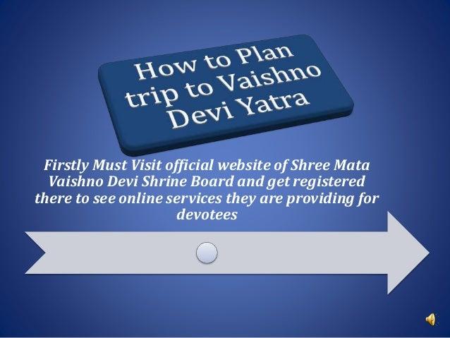 Mata Vaishno Devi Shrine Board Room Booking