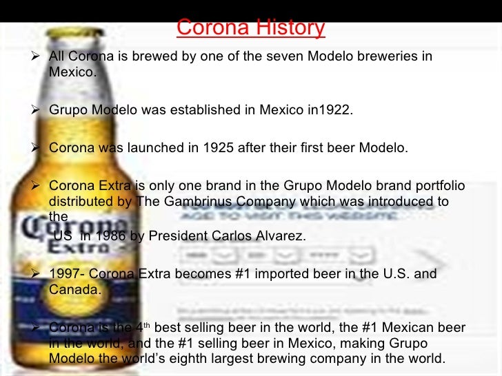 Tript Taneja (ppt on Corona Beer)