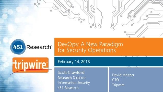 DevOps Security: A New Paradigm
