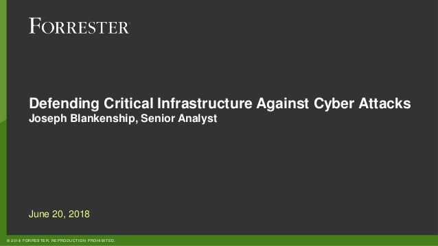 Defending Critical Infrastructure Against Cyber Attacks