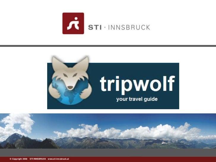 ©www.sti-innsbruck.at INNSBRUCK www.sti-innsbruck.at  Copyright 2008 STI