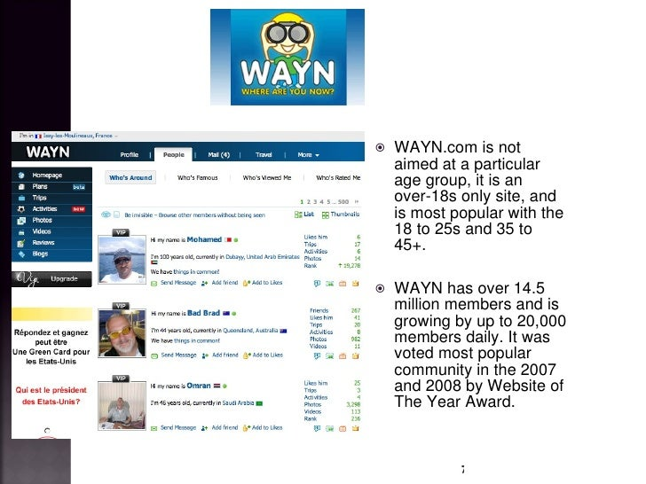 Wayn com dating site