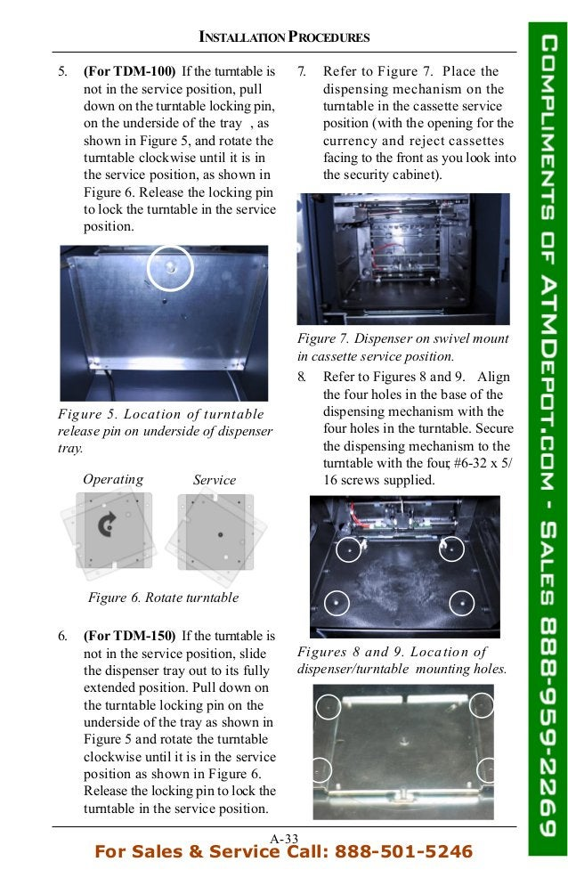 Triton 9100-atm-owners-manual