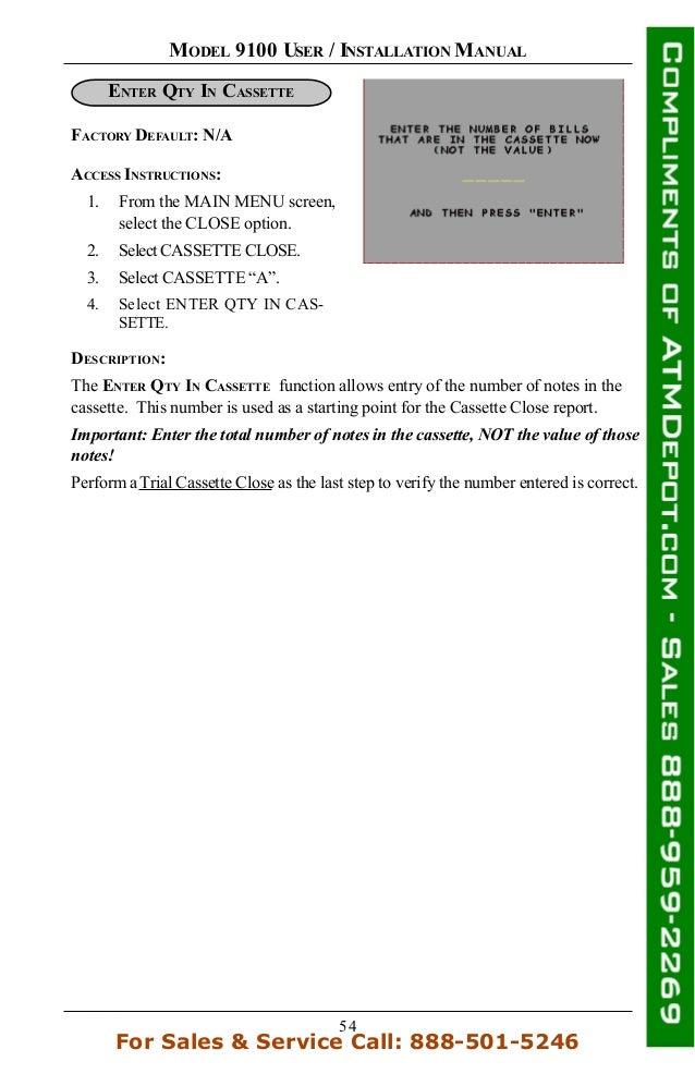 Triton 9100 atm owners manual 72 publicscrutiny Choice Image