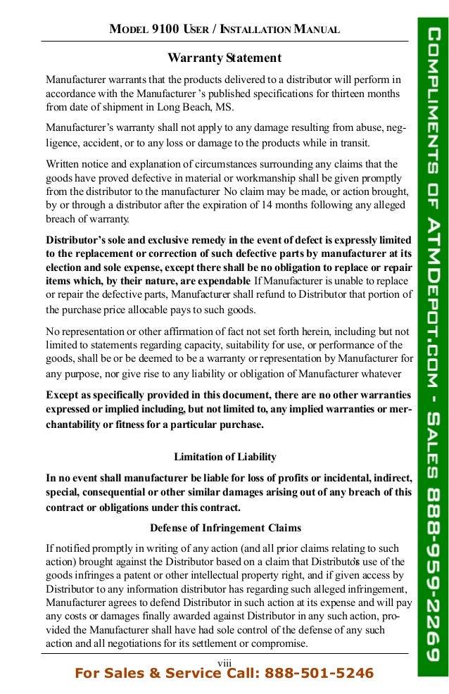 Triton 9100 atm owners manual 9 viii publicscrutiny Choice Image
