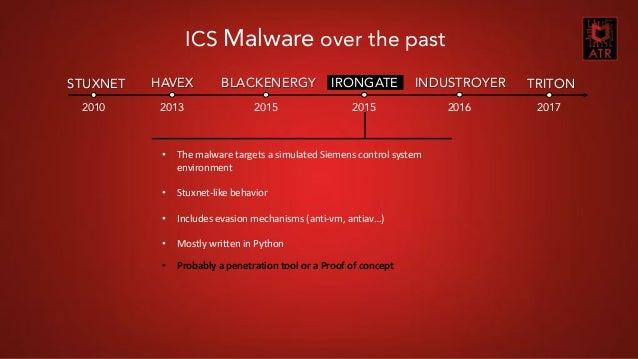 TRITON: The Next Generation of ICS Malware