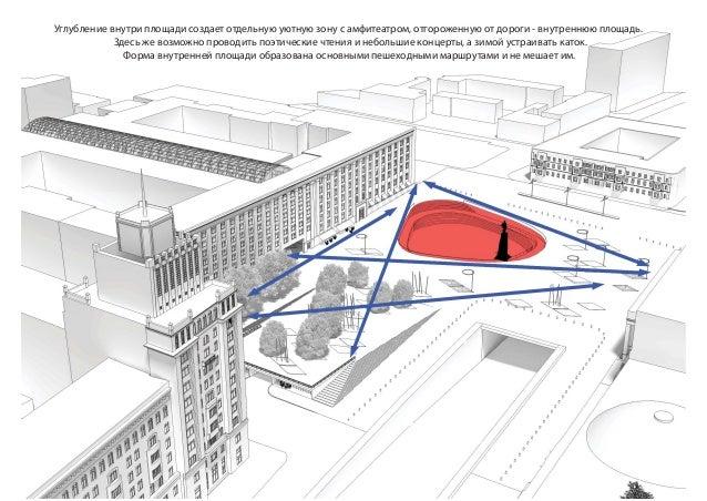 Триуфальная площадь. Концепция развития