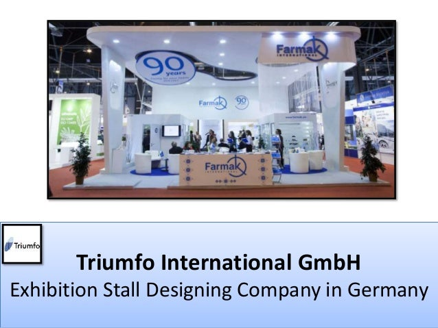 Exhibition Stall Presentation : Exhibition design company in germany