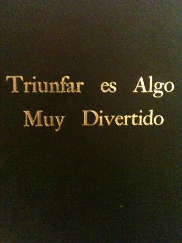 ¿Cuáles son las características de los Hombres y Mujeres que triunfan en México ?