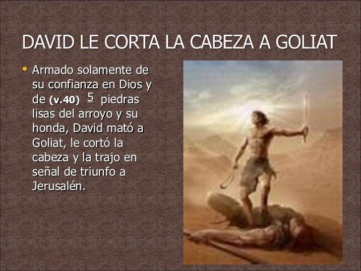 Resultado de imagen para DAVID GOLIAT CABEZA