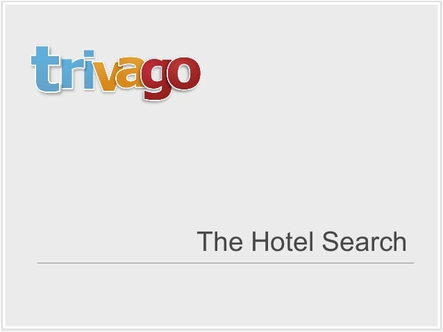 The Hotel Search