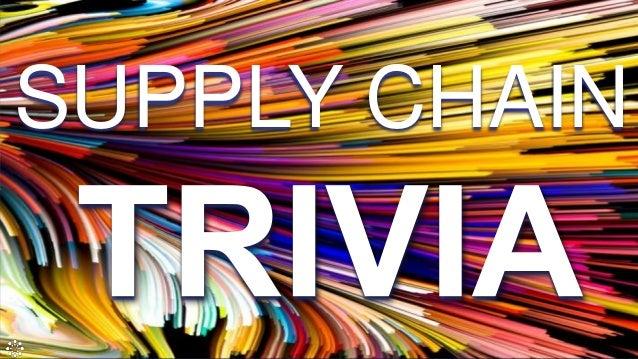 Supply Chain Trivia Presentation