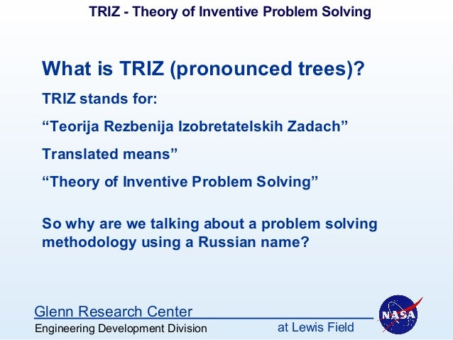 triz problem solving