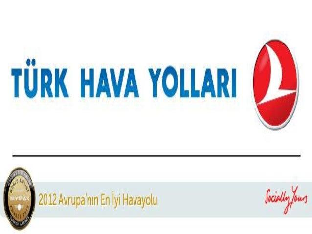 Türk hava yolları sunum